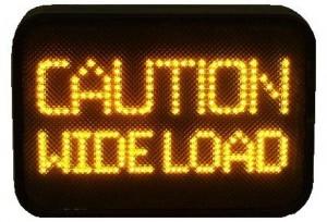 Caution Wide Load 2